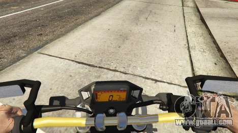 GTA 5 Honda MSX 125 rear right side view