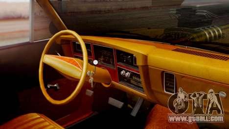 Dodge Dart 1975 Estilo Drag for GTA San Andreas right view