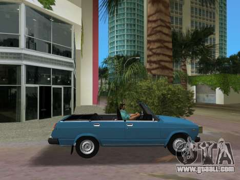 VAZ 21047 Convertible for GTA Vice City left view