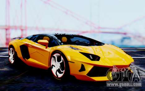 Lamborghini Aventador Mansory Carbonado Color for GTA San Andreas
