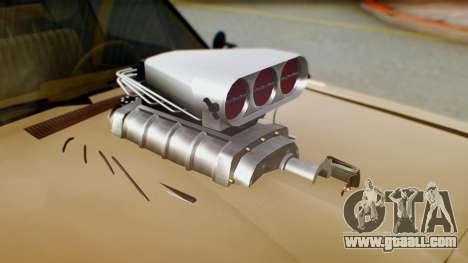 Dodge Dart 1975 Estilo Drag for GTA San Andreas back view