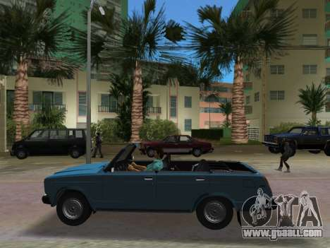 VAZ 21047 Convertible for GTA Vice City back view