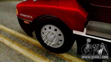 Kenworth T600 Aerocab 72 Sleeper for GTA San Andreas right view