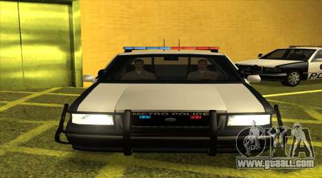 Police LS for GTA San Andreas left view