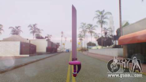 Rose Sword from Steven Universe for GTA San Andreas second screenshot