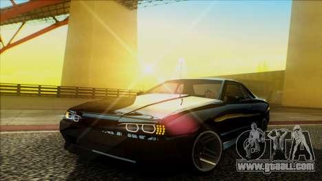 Elegy HellCat for GTA San Andreas back view