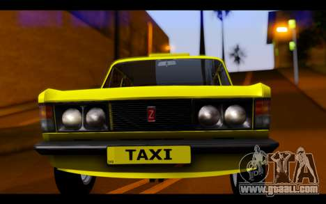 Zastava 125PZ Taxi for GTA San Andreas back view