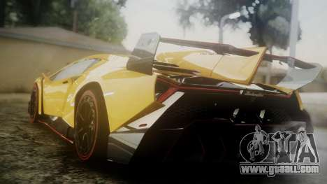 Lamborghini Veneno 2012 for GTA San Andreas left view