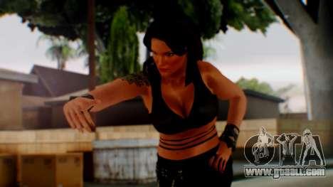 WWE Lita for GTA San Andreas