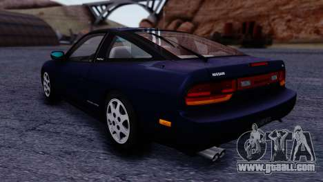 Nissan 240SX SE 1994 Stock for GTA San Andreas back left view