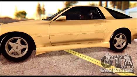 Toyota Supra MK3 Tunable for GTA San Andreas upper view