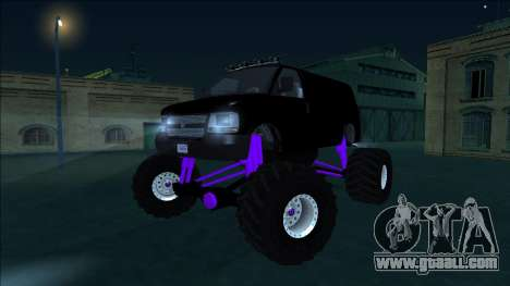 GTA 5 Vapid Speedo Monster Truck for GTA San Andreas side view