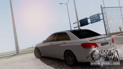 Mercedes-Benz E63 AMG PML Edition for GTA San Andreas back view
