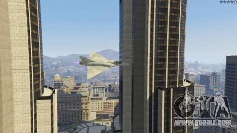 GTA 5 Dassault Mirage 2000-C FAB fifth screenshot