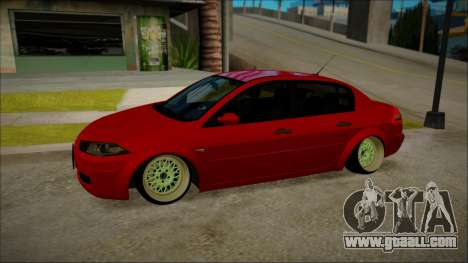 Renault Megane Ukrainian Stance for GTA San Andreas left view