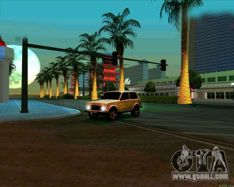 Niva 2121-Dorjar [ARM] for GTA San Andreas side view