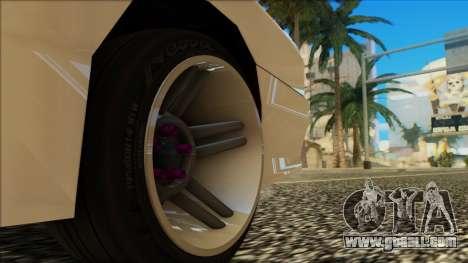 Elegy HellCat for GTA San Andreas upper view