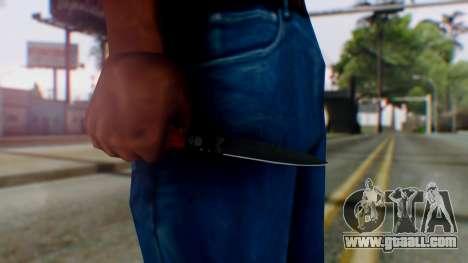 GTA 5 Bodyguard Switchblade for GTA San Andreas third screenshot