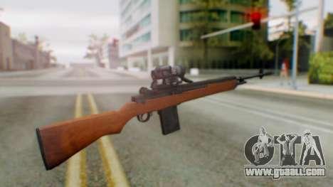 Arma2 M14 Sniper for GTA San Andreas second screenshot