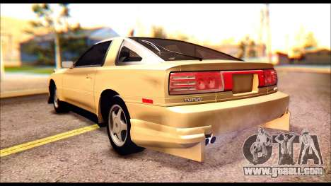 Toyota Supra MK3 Tunable for GTA San Andreas side view