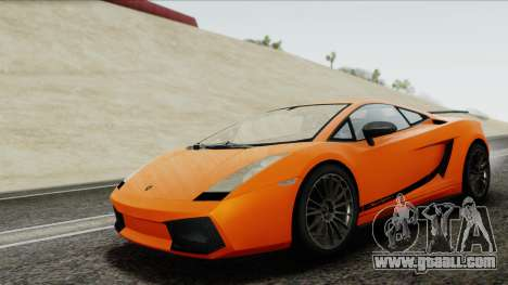 Lamborghini Gallardo Superleggera for GTA San Andreas