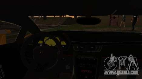 Lamborghini Veneno 2012 for GTA San Andreas back view