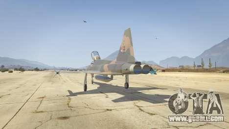GTA 5 Northrop F-5E Tiger II FAB third screenshot