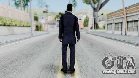 GMAN v2 from Half Life for GTA San Andreas third screenshot