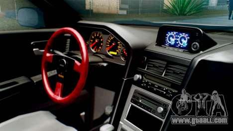 Nissan Skyline GT-R R34 RAID Spec for GTA San Andreas right view