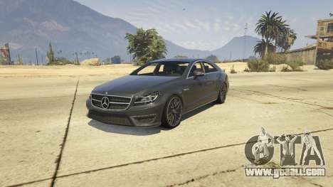 Mercedes-Benz CLS 63 AMG v.1.2 for GTA 5