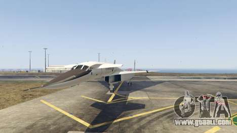GTA 5 XB-70 Valkyrie second screenshot