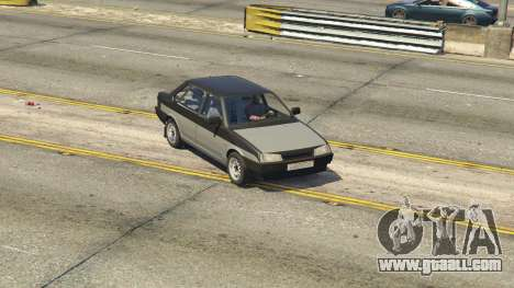 GTA 5 VAZ 21099 v3 rear right side view