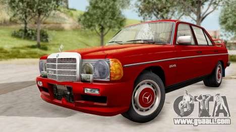 Mercedes-Benz 230E AMG 3.2 1982 Evolution Mod for GTA San Andreas