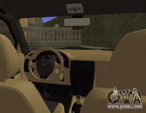 VAZ 2110 KBR for GTA San Andreas back view