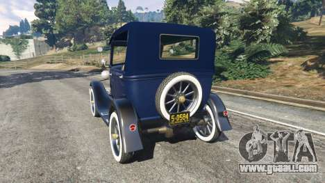 GTA 5 Ford Model T 1927 [Tin Lizzie] rear left side view