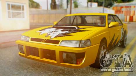 Sultan Винил из Need For Speed ProStreet for GTA San Andreas