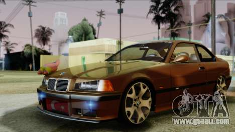 BMW M3 E36 SüvariGaragee for GTA San Andreas back left view