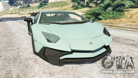 Lamborghini Aventador Super Veloce v0.2 for GTA 5