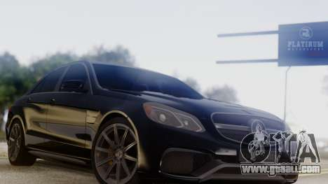 Mercedes-Benz E63 AMG PML Edition for GTA San Andreas right view