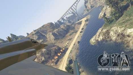 GTA 5 Northrop F-5E Tiger II FAB fifth screenshot