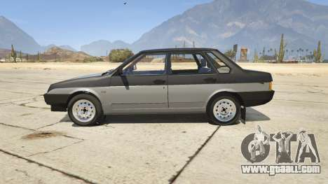 GTA 5 VAZ 21099 v3 left side view