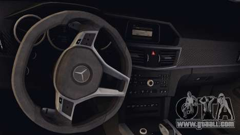 Mercedes-Benz E63 AMG PML Edition for GTA San Andreas inner view