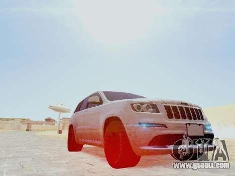Jeep Grand Cherokee SRT8 2013 Tuning for GTA San Andreas