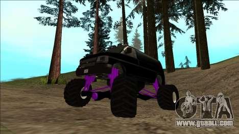 GTA 5 Vapid Speedo Monster Truck for GTA San Andreas bottom view