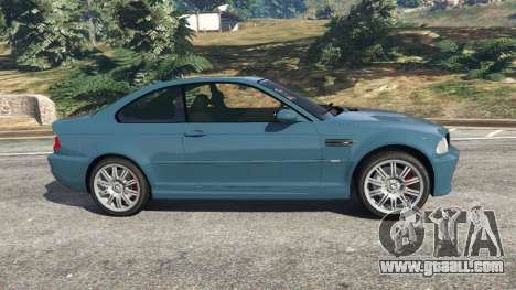GTA 5 BMW M3 (E46) 2005 left side view