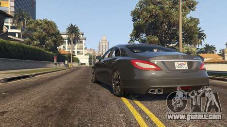 GTA 5 Mercedes-Benz CLS 63 AMG v.1.2 back view