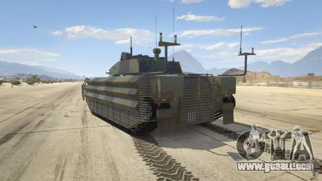 GTA 5 FV510 Warrior rear left side view