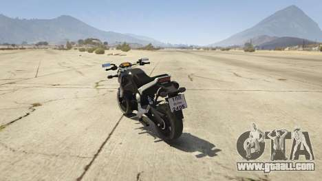 GTA 5 Honda MSX 125 rear left side view
