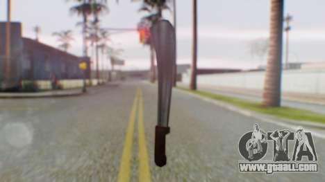 Vice City Machete for GTA San Andreas