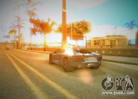 SA SuperPro ENB v1 for GTA San Andreas second screenshot
